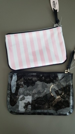 Victoria's Secret Victoria's Secret lace floral Card Coins purse key bag mini wallet Image 2