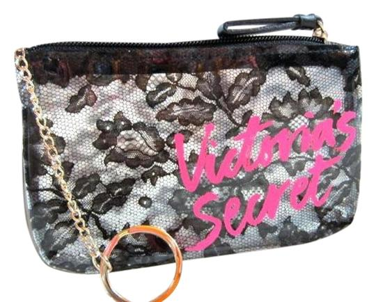 Victoria's Secret Victoria's Secret lace floral Card Coins purse key bag mini wallet Image 6
