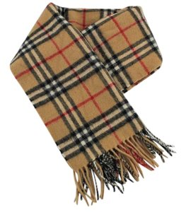 Burberry #8897 Burberry Check pattern 100% lambswool scarf