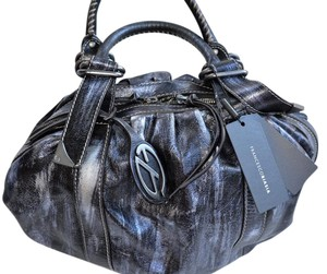Francesco Biasia Distressed Shoulder Bag