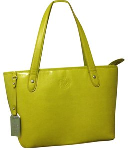 Ralph Lauren Tote in Yellow Citron