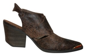 Qupid Brown Rustic Boots