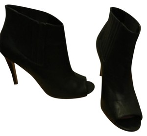 Halogen Open Toe Open Toe black Boots