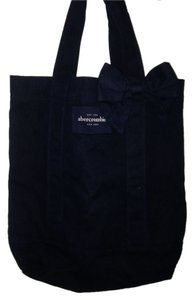 Abercrombie & Fitch Nice Fashionable Navy blue Beach Bag