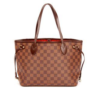 Louis Vuitton Neverfull Pm Tote in Brown