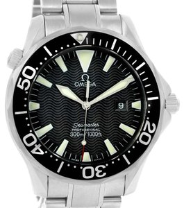 Omega Omega Seamaster 300m Black Wave Dial Stainless Steel Watch 2264.50.00