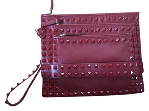 Valentino red Clutch