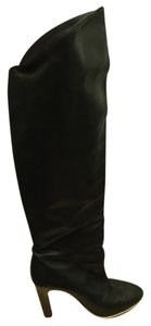 Luxury Rebel Above The Knee Over The Knee Knee High black Boots