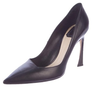Dior Christian Leather Black Pumps