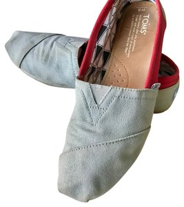 TOMS Red and grey Athletic
