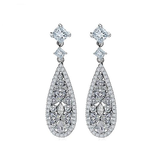 Preload https://img-static.tradesy.com/item/19759957/white-crystal-zircon-earrings-0-0-540-540.jpg