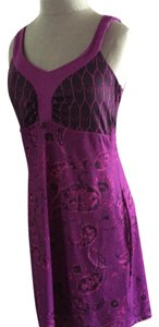 The North Face short dress Purple/pink paisley on Tradesy