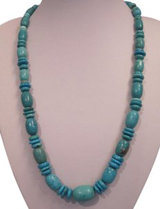 Other Turquoise Bead Necklace, 22 Inches
