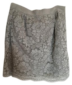 J.Crew Mini Classic Preppy Lace Mini Skirt Fern Green