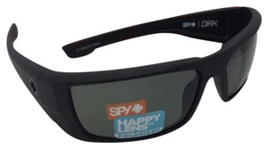 Spy Polarized SPY OPTIC Sunglasses DIRK Soft Matte Black w/ Grey-Green