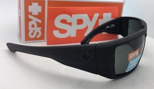 Spy Polarized SPY OPTIC Sunglasses DIRK Soft Matte Black w/ Grey-Green Image 1