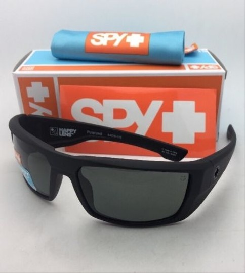 Spy Polarized SPY OPTIC Sunglasses DIRK Soft Matte Black w/ Grey-Green Image 10