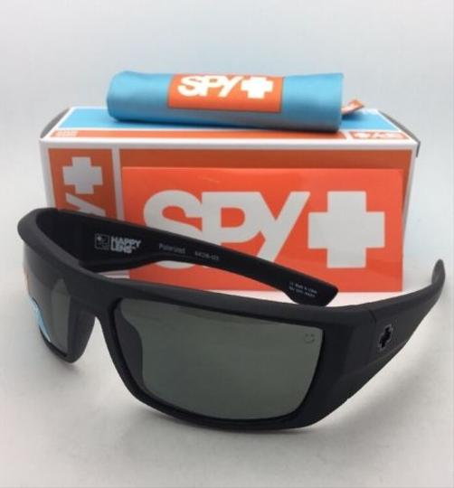 Spy Polarized SPY OPTIC Sunglasses DIRK Soft Matte Black w/ Grey-Green Image 3