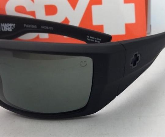 Spy Polarized SPY OPTIC Sunglasses DIRK Soft Matte Black w/ Grey-Green Image 7