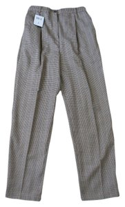 Bice Trouser Pants beige plaid