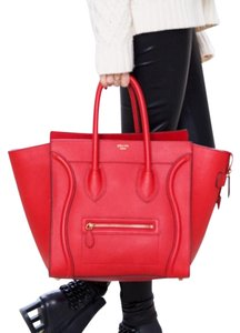 Céline Tote in Red