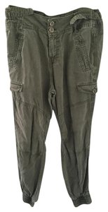 Zara Military Pocket Baggy Pants Green