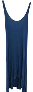 Blue Maxi Dress by Zara Maxi