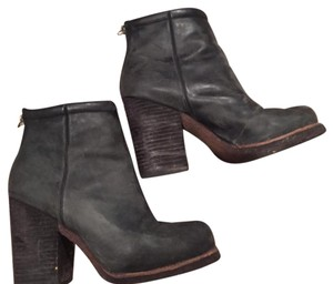 Jeffrey Campbell Black grey gray Boots