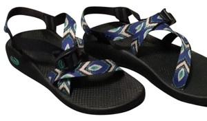 Chaco Feathered blue Sandals