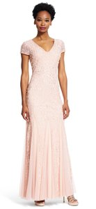 Adrianna Papell Embellished V-neck Dress