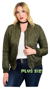 Other Plus Size Xlarge Quilted Curvy Anorak Military Jacket