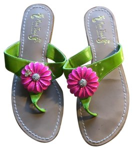 Miss Trish Green Sandals