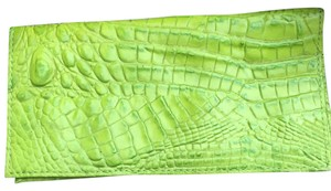 Brahmin Wristlet in Lime Melbourne