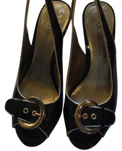 Anne Klein Black Wedges