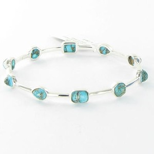 Ippolita Ippolita Bracelet Rock Candy Stone Mixed Bronze Turquoise Sterling