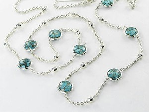 Ippolita Ippolita Necklace Rock Candy Mini-lollipop Ball Bronze Turquoise Quartz 925
