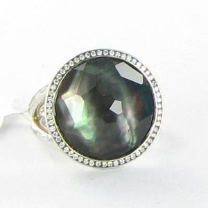 Ippolita Ippolita Ring Stella Lollipop 0.23cts Diamonds Black Mop 925