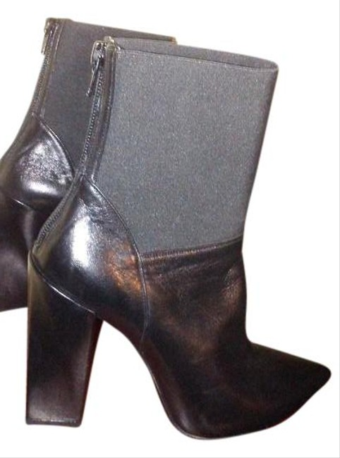 Gianni Marra Black Made In Italy Boots/Booties Size US 5.5 Regular (M, B) Gianni Marra Black Made In Italy Boots/Booties Size US 5.5 Regular (M, B) Image 1