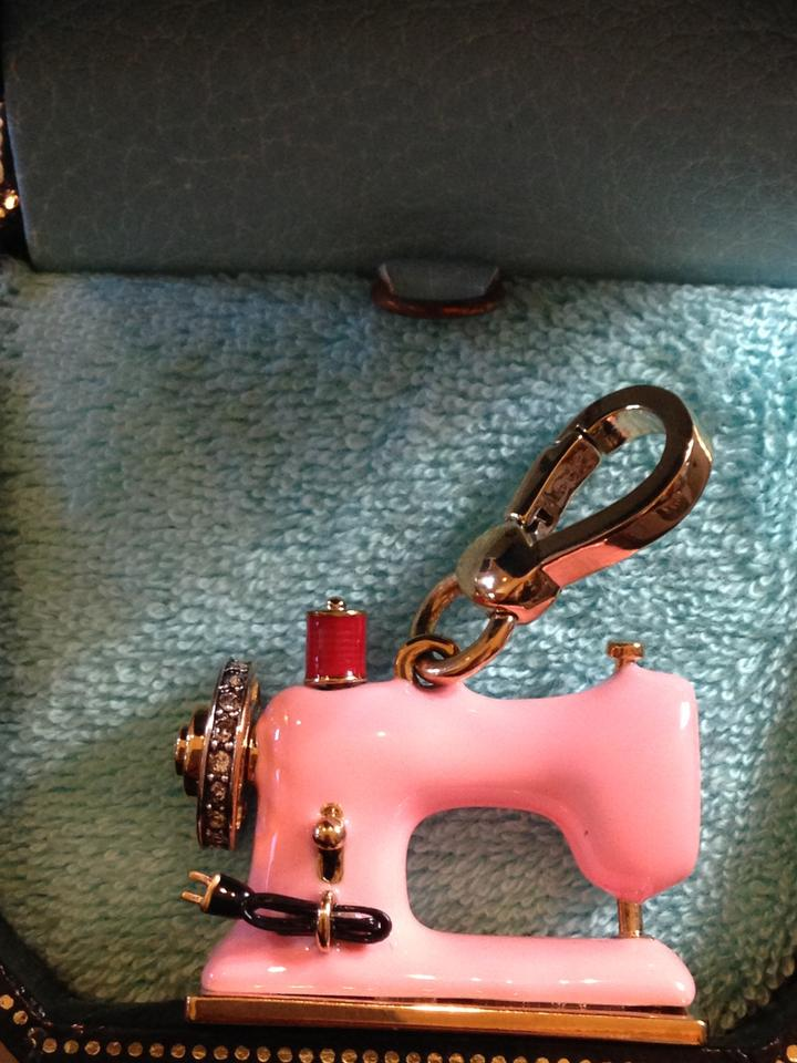 Juicy Couture Gold Sewing Machine Nwot Rare Charm Tradesy Delectable Juicy Couture Sewing Machine Charm