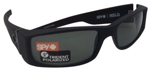 27fecb59be Spy Polarized SPY OPTIC Sunglasses HIELO Soft Matte Black w  Grey-Green
