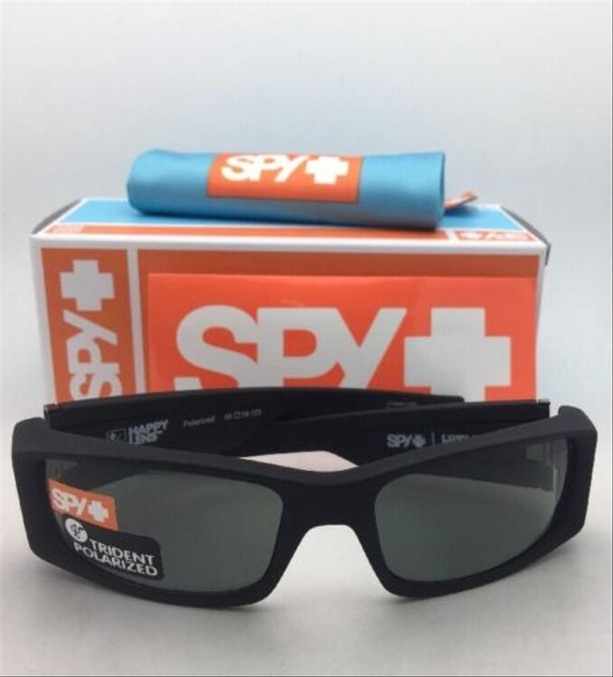 2774ec01a4 Spy Polarized SPY OPTIC Sunglasses HIELO Soft Matte Black w  Grey-Green