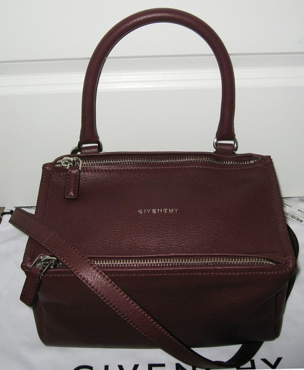 Givenchy Pandora Small Goat Oxblood Pandora Satchel in Burgundy