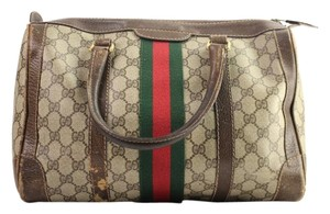 Gucci Boston Doctors Speedy Duffle Satchel