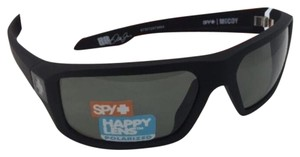Spy Polarized SPY OPTIC Sunglasses McCOY Soft Matte Black w/ Grey-Green
