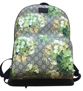 Gucci Floral Laptop Floral Backpack