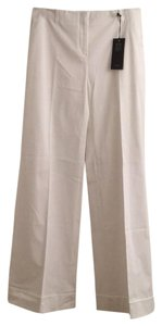 Piazza Sempione Wide Leg Pants White