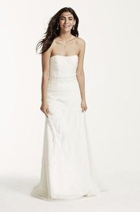David's Bridal David's Bridal V3540 Wedding Dress