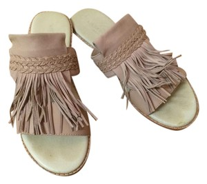 Liebeskind Leather Fringe Sandals