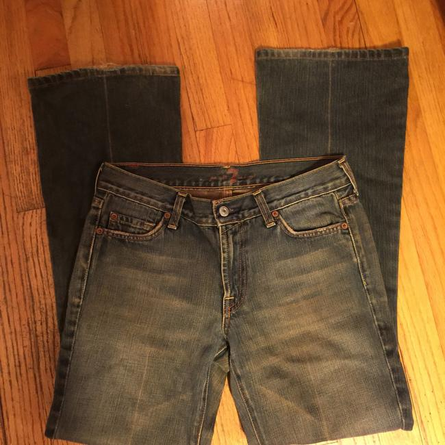 7 For All Mankind Boot Cut Jeans Image 9
