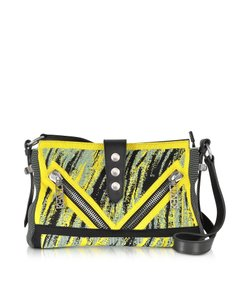 Kenzo Leather Designer #ams Cross Body Bag
